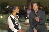 #RobertsInRussia with Miss Universe!
