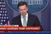 WH addresses Trump Q&A controversy