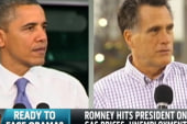 Fired Up Romney Goes After President in...