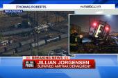 Amtrak train survivor: 'I just went flying'