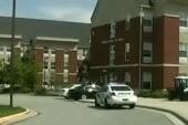 N.C. college on lockdown after man seen...