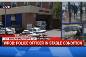 Report: Officer injured in stable condition