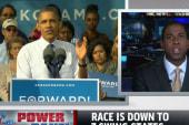 Obama blitzes as Romney hypes up momentum