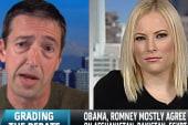 Ron Reagan and Meghan McCain grade the debate