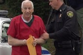 Emotional reaction in court to Sandusky...