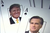 Why is Romney playing his 'Trump' card?