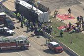 2 killed in Texas charter bus crash,...