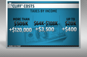 What happens if we dive off the fiscal cliff?