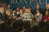 Ron Paul garners military support