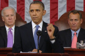Obama's State of the Union: three speeches...