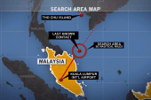 Malaysian Air Flight 370 disappears