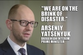 Ukraine crisis escalates int'l tensions