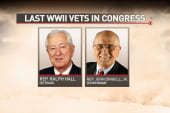The last World War II vets in Congress