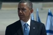 Obama shown Israel's 'iron dome' air defenses