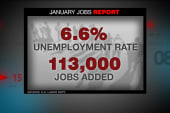 Lackluster job numbers for January