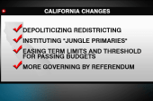 California at forefront of political change