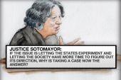 Justices indicated the possibility of no...