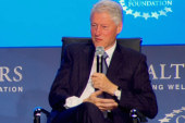 The Gaggle: Clinton comments on wife's health