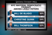 NYC mayoral candidate de Blasio expands...