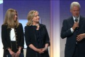 Is the Clinton foundation an issue for...