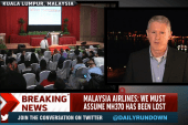 Airline: We must assume MH370 has been lost