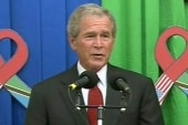 Report: Bush has stent placed in heart