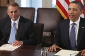 Obama to tackle the fiscal cliff