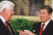 When politics worked: Tip & The Gipper