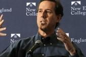 A tale of two Santorums