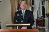 Boehner's Plan B unravels
