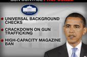 Obama works to curb gun violence
