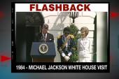 Flashback: Michael Jackson visits the...