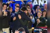 Santorum slams GOP campaign in Iowa