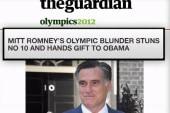 One word derails Romney's London trip