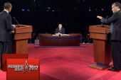 Obama acts subdued during debate