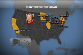 Clinton plans aggressive fall schedule