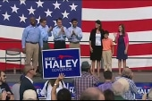 GOP notables rally for Haley re-election...