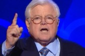 Ted Kennedy's still present at the DNC