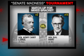 Dole takes on Muskie in NBC's 'Senate...