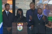 Phony interpreter at Mandela memorial?