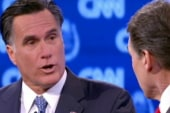 Romney gets testy