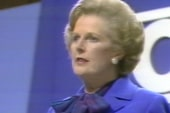 Bashir: 'In domestic terms, Thatcher was...