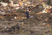 'Challenging time' for mudslide victims