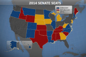 Senate seats up for grabs in 2014