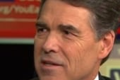 Gov. Rick Perry: Campaign is gaining momentum