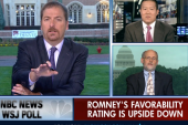 Poll: Romney's favorability rating is...