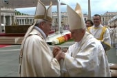 Two former Popes recognized as saints