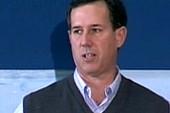 Santorum's hot rhetoric, politics at the...