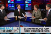 Will Santorum win N.H.?