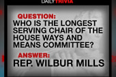 Trivia: Who is longest serving chair of...